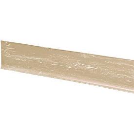 "Rubber Riser Stair Cover 36""W Beige - Pkg Qty 3"