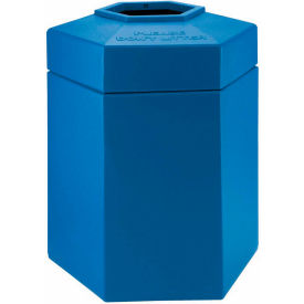 Waste Receptacle, 45 Gallon Blue - 737204