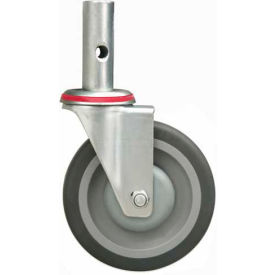 """Replacement 5"""" Swivel Casters - Pair - For Global 241664 & 241666 Hand Trucks"""