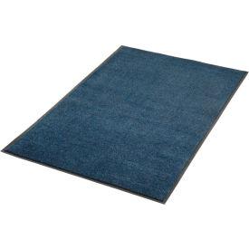 Plush Super Absorbent Mat 4'W Cut Length Up To 60ft. Blue