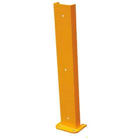 "Steel Rack Guard 5.5""Wx3.75""Dx36""H"