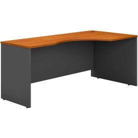 "Bush Furniture Right Corner Desk - 72"" - Natural Cherry"