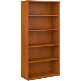"Bush Furniture Bookcase - 72"" - Natural Cherry"