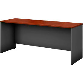 """Bush Furniture Credenza Shell - 72""""W x 23-3/8""""D - Hansen Cherry - Series C"""