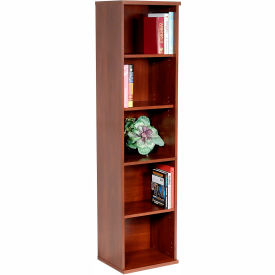 Single Bookcase In Hansen Cherry - Office Furniture Groupings