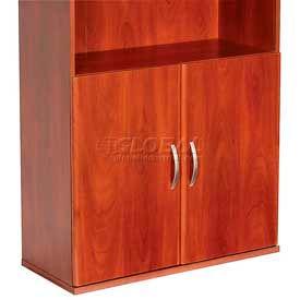 Door Kit For Bookcase In Hansen Cherry - Office Furniture Groupings