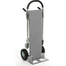 Carpeted Aluminum Snap-On Deck For Junior Aluminum 2 In 1 Convertible Hand Truck
