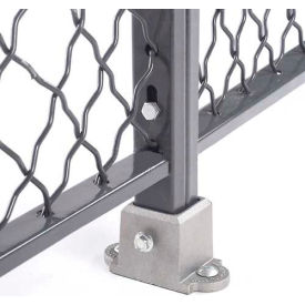 Floor Socket for Wire Mesh Partitions
