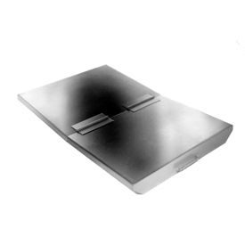 Lid for Wright 1 Cu Yd Stainless Steel Heavy Duty Self-Dumping Hopper