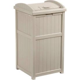 Suncast® Trash Hideaway™ Outdoor Waste Receptacle