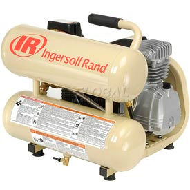 Ingersoll Rand P1IU-A9, 1 HP, Hand Carry, 4 Gallon, Twin Stack, 135 PSI, 3.2 CFM, 1-Phase 120V
