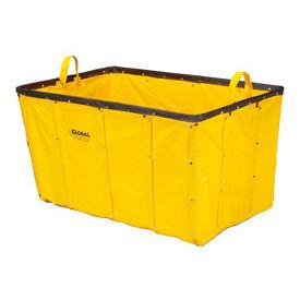 Replacement Liner for Best Value 8 Bushel Yellow Vinyl Basket Bulk Truck
