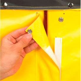 Replacement Liner for Best Value 16 Bushel Yellow Vinyl Basket Bulk Truck