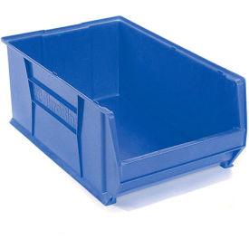 """Akro-Mils Super-Size AkroBin® 30290 - Stacking Bin 18-3/8""""W x 29-1/4""""D x 12""""H Blue"""