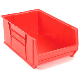"Akro-Mils Super-Size AkroBin® 30290 - Stacking Bin 18-3/8""W x 29-1/4""D x 12""H Red"