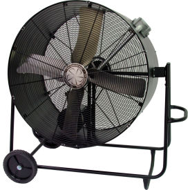 TPI PBS42BHL,42 Inch Portable Blower Fan Belt Drive Swivel Base Hazardous Location 3/4 HP 10600 CFM