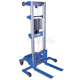 Vestil Hand Operated Counterbalanced Lift Truck A-LIFT-CB-EHP 350 Lb. Straddle Legs