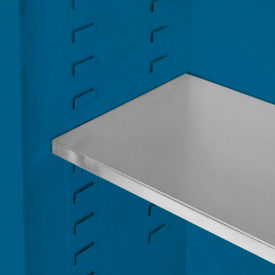 "Global&#8482 Acid Corrosive Additional Shelf/Poly Tray Liner - 39-5/8""W x 14-1/8""D"
