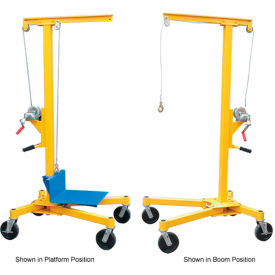 Vestil Portable Worksite Crane LIFTER 2 500 Lb Capacity