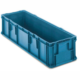 ORBIS Stakpak SO4822-7 Plastic Long Stacking Container 48 x 22-1/2 x 7-1/4 Blue