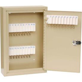 MMF STEELMASTER® Unitag™ 30 Key Cabinet 201903003 Single Key Lock Sand