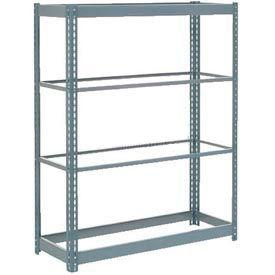 "Heavy Duty Shelving 48""W x 18""D x 72""H With 4 Shelves, No Deck"