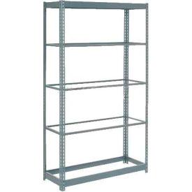 "Heavy Duty Shelving 36""W x 18""D x 72""H With 5 Shelves, No Deck"