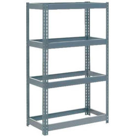 """Extra Heavy Duty Shelving 36""""W x 18""""D x 72""""H With 4 Shelves, No Deck"""