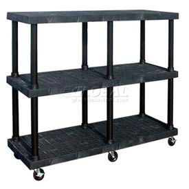 SPC Dura-Shelf® Truck MDS6624X3 3 Shelves 900 Lb. Cap.