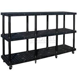 SPC Dura-Shelf® Truck MDS9624X3 3 Shelves 1200 Lb. Cap.