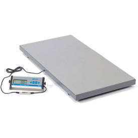 "Brecknell PS500 Low Profile Digital Floor Scale 42"" x 22"" 500lb x 0.2lb"
