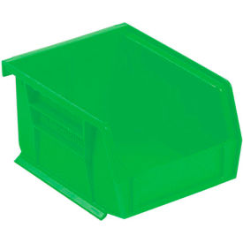 "Akro-Mils AkroBin® Plastic Stacking Bin 30210 - 4-1/8""W x 5-3/8""D x 3""H, Green - Pkg Qty 24"