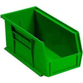 "Akro-Mils AkroBin® Plastic Stacking Bin 30230 - 5-1/2""W x 10-7/8""D x 5""H, Green - Pkg Qty 12"