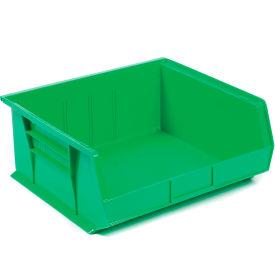 "Akro-Mils AkroBin® Plastic Stacking Bin 30250 - 16-1/2""W x 14-3/4""D x 7""H, Green - Pkg Qty 6"