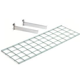 Wire Shelf 36 X 12 With 2 Brackets - Pkg Qty 3