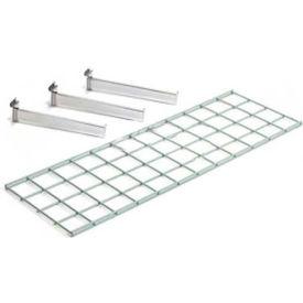 Wire Shelf 48 X 12 With 3 Brackets - Pkg Qty 2