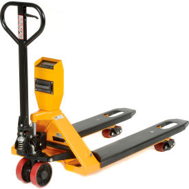 NTEP Approved Legal for Trade Low Profile Pallet Scale Truck 5000 Lb. Capacity