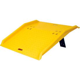 "Eagle Mfg 1795 Portable Plastic Dock Plate 36""L x 35""W x 5""H 750 Lb. Capacity"