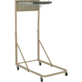Blue Print Pivot Mobile Rack with 12 Pivot Hangers