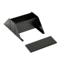 Steel Literature Rack Base & Top Black