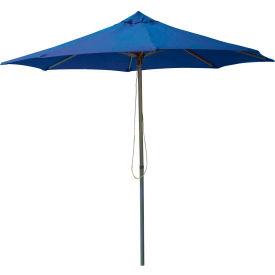 Leisure Craft 8-1/2' Outdoor Umbrella Blue