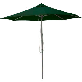 Leisure Craft 8-1/2' Outdoor Umbrella Green