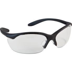 Vapor II® Safety Eyewear - Clear Lens, Black Frame - Pkg Qty 10