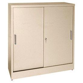 Cabinets Wall Mount Counter Height Sandusky Sliding Door Counter