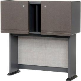 "Bush Furniture 36"" Hutch - Gray - Series A"