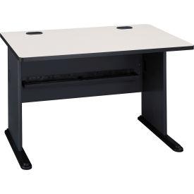 """Bush Furniture 48"""" Desk - Gray - Series A"""