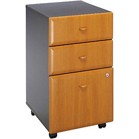Three Drawer File in Cherry - Modular Office Furniture