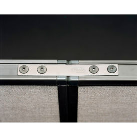 180° Straight Connector for Privacy Office Partitions