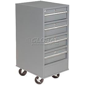 4 Drawer Mobile Pedestal