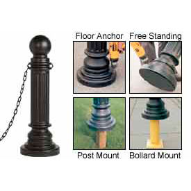 Eagle Decorative Post Sleeves Classic Style, 1713BLK